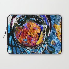 Basketball Space Laptop Sleeve