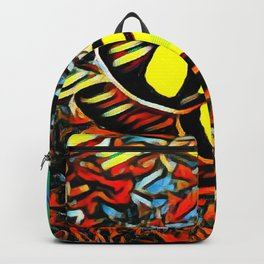 Butterfly, colorful butterfly, watercolor, color splash butterfly Backpack
