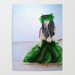 hula girl Poster