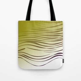 gold wild lines ethnic Tote Bag