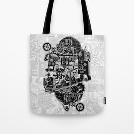 Hungry Gears (negative) Tote Bag