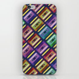 90s pattern iPhone Skin