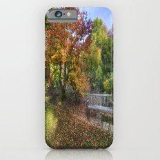 Autumn Bench  iPhone 6s Slim Case