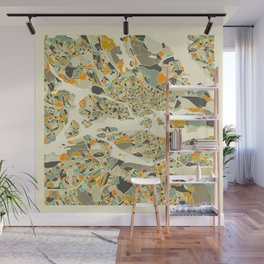 Stockholm MAP Wall Mural