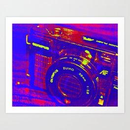 Olympus Art Print