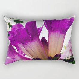 Purple Garden Rectangular Pillow