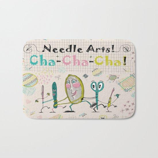 Needle Arts! Cha-Cha-Cha! Bath Mat