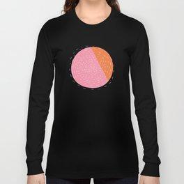 Retro Mod Flowers #4 by Friztin Long Sleeve T-shirt