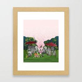 Ethereal Framed Art Print