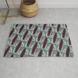 African Ankara Wax Print Rug