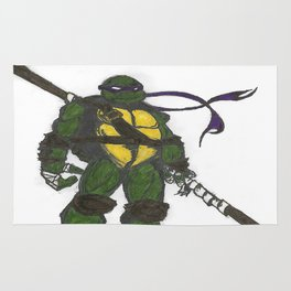 Ninja Turtles Donatello Rug