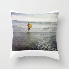 Costa Rica Polaroid #35 Throw Pillow