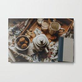 Tea Service Still Life I Metal Print