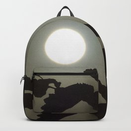By the light of the full moon Backpack