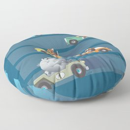 The Great Animal International Invitational Race Floor Pillow