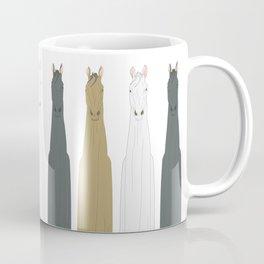 Triple Horses Coffee Mug