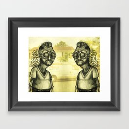 The Brewster Circle Boys Framed Art Print