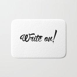 Write On! Bath Mat