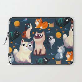 Cat Print Laptop Sleeve