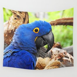 Hyacinth Macaw Wall Tapestry