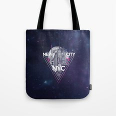 New York City V [pink] Tote Bag