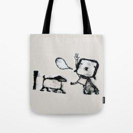 Hello pet Tote Bag