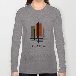 Glory to Yugoslavian design Long Sleeve T-shirt