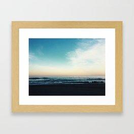 The Morning Horizon Framed Art Print