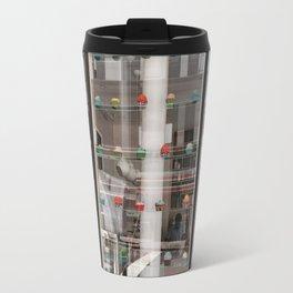 NYC Cupcake Shop Reflections Travel Mug