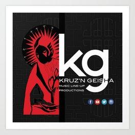 kg Art Print