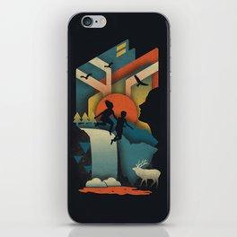 Jump In iPhone Skin