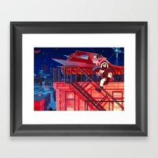 Lookouts Framed Art Print