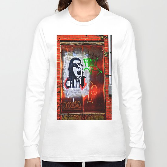 Back Alley Street Art Long Sleeve T-shirt