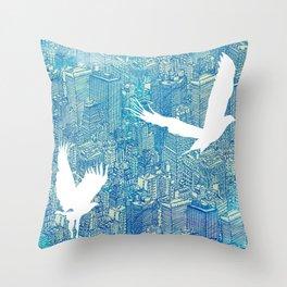 Ecotone (day) Throw Pillow