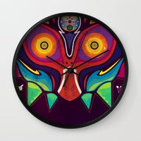 majora Wall Clocks featuring Majora by Tommy Price