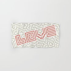 Love game Hand & Bath Towel