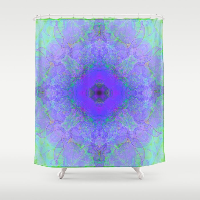 Lavender Lacework Shower Curtain