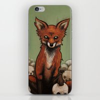 emily rickard iPhone & iPod Skins featuring Emily by Jeff Prymowicz