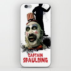 Captain Spaulding: Monster Madness Series iPhone & iPod Skin