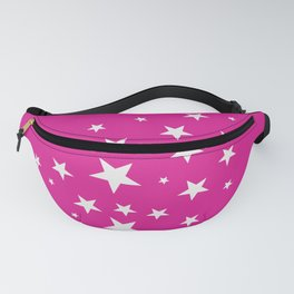 Simple Stars On Pink Art Fanny Pack