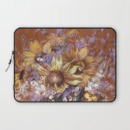 Sunflower coctail Laptop Sleeve