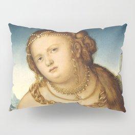 "Lucas Cranach the Elder ""Lucretia"" 3. (1518) Pillow Sham"