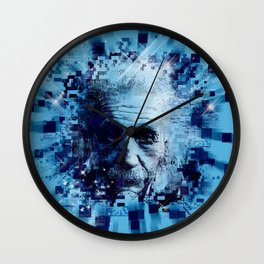 Albert Einstein 2 Wall Clock