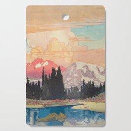 Storms over Keiisino Cutting Board