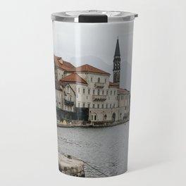 Old town of Perast Travel Mug