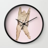 anatomy Wall Clocks featuring Anatomy by maddiecohendesign