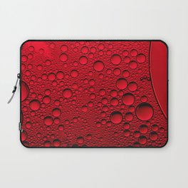 Red Bubbles Laptop Sleeve