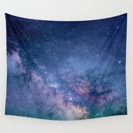 Milky Way Stars (Starry Night Sky) Wall Tapestry