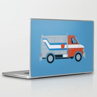 van Laptop & iPad Skins featuring Optimus Van by Brandon Ortwein