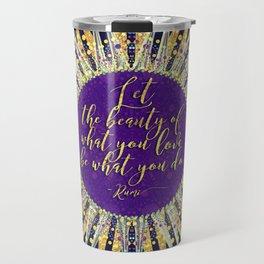 Inspire Artistry • Do What You Love Travel Mug